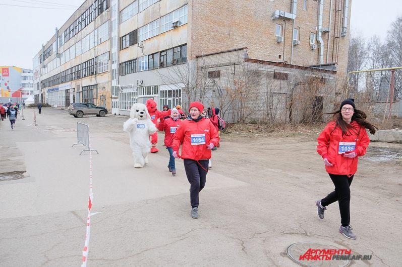 Команда «АиФ-Прикамье» присоединилась к благотворительному «Тёплому забегу»