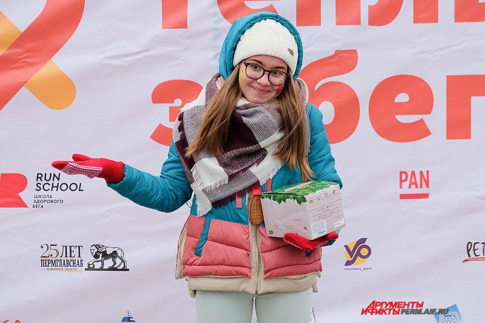 Победители забега получили ценные призы и подарки.