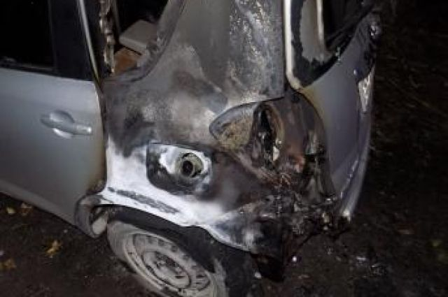 ВЖелезногорске задержали поджигателя машины идетских колясок