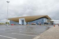 Длина участка подъезда к новому терминалу от кольца – 98 метров.