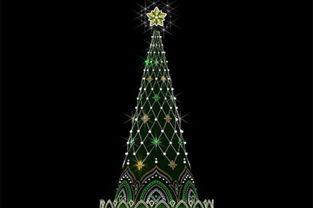 Вот так будет выглядеть новая елка Иркутска.