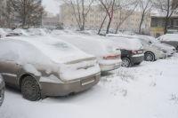Омск засыплет снегом.