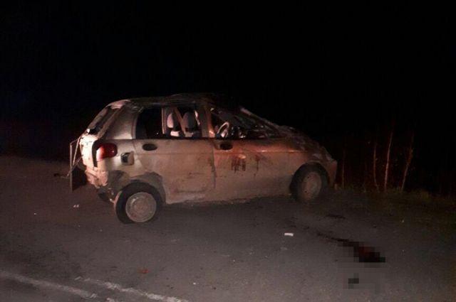 Наюге республики вДТП погибли два человека