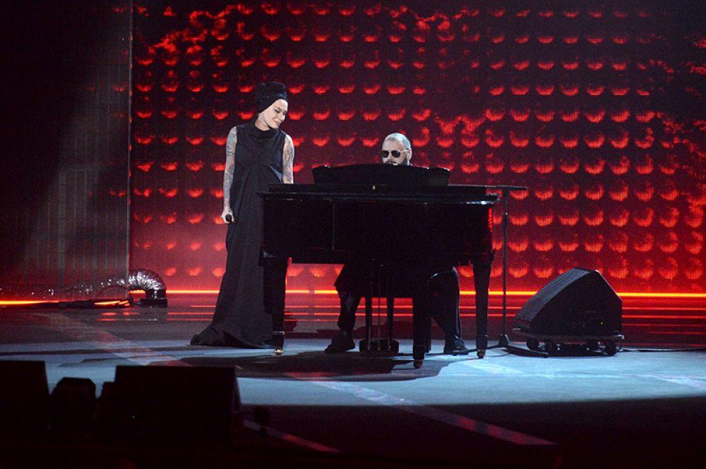 Певица Наргиз Закирова и композитор Максим Фадеев.
