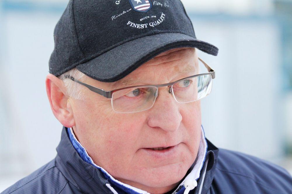 На фото – главный тренер ХК «Байкал-Энергия» Андрей Пашкин.