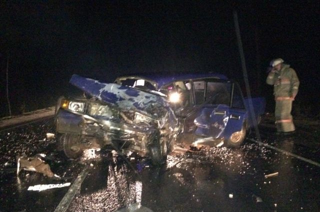 ВТверской области нетрезвый  шофёр  ВАЗа устроил массовое ДТП с 2-мя  погибшими