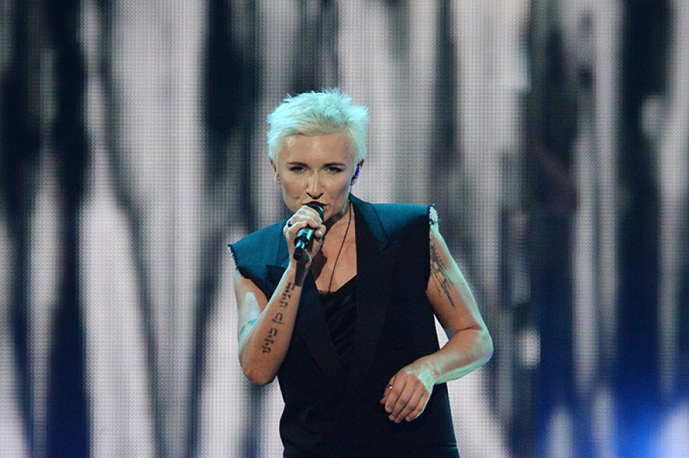 Солистка группы «Ночные снайперы», певица Диана Арбенина.