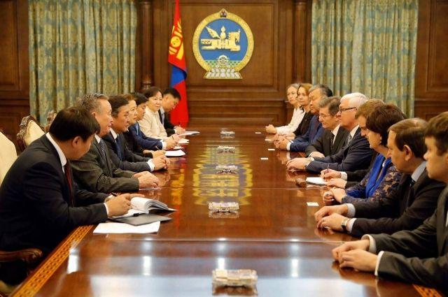 Делегация ЗС Приангарья в Монголии.
