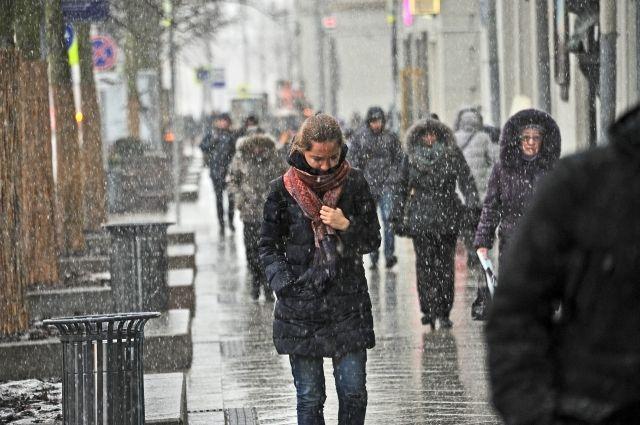 ВТверской области ожидаются мокрый снег игололедица вовторник