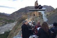 Павел Лунгин на съемках своего нового фильма в Дагестане