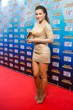 Ани Лорак щеголяла в коротеньком облегающем платье.