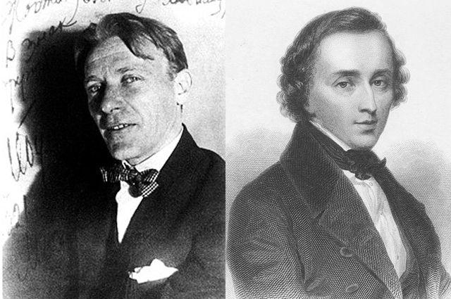 Михаил Булгаков и Фридерик Шопен.