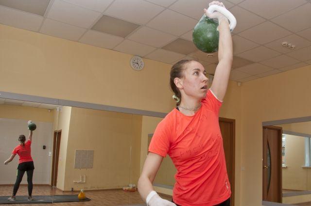 У пятикратной чемпионки России особый режим питания - вегетарианский.