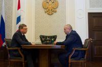 В правительстве Омской области хотят усилить блок строительства жилищно-коммунального комплекса, жилищной инспекции и управления стройнадзора