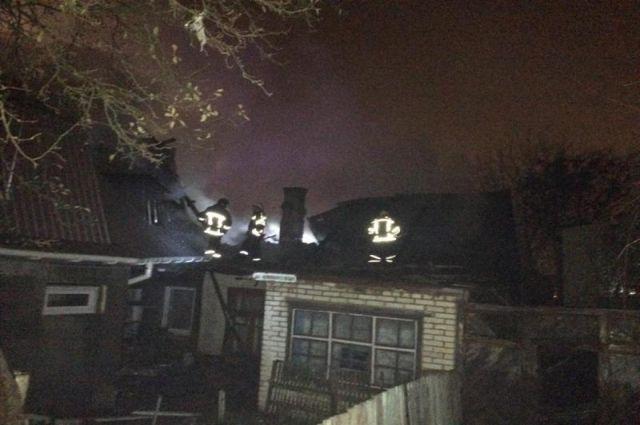 Произошел масштабный пожар в центре Винницы