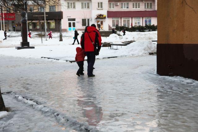Гололедица имокрый снег ожидаются 17ноября вТатарстане