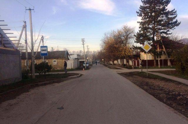 Полицейские ищут водителя наСтаврополье, сбившего подростка