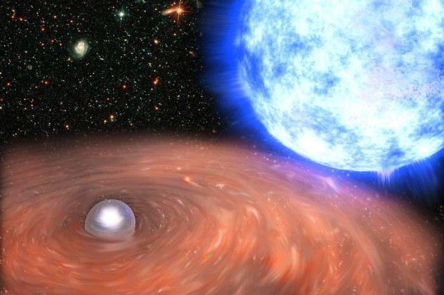 Астрофизики МГУ первыми вмире наблюдали сжатие белого карлика