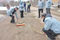 Всего в Удмуртии было отремонтировано порядка 141 км дорог в текущем году.