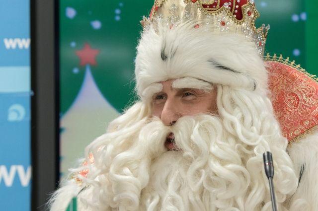 Дед Мороз заготовил немало подарков для жителей Омска