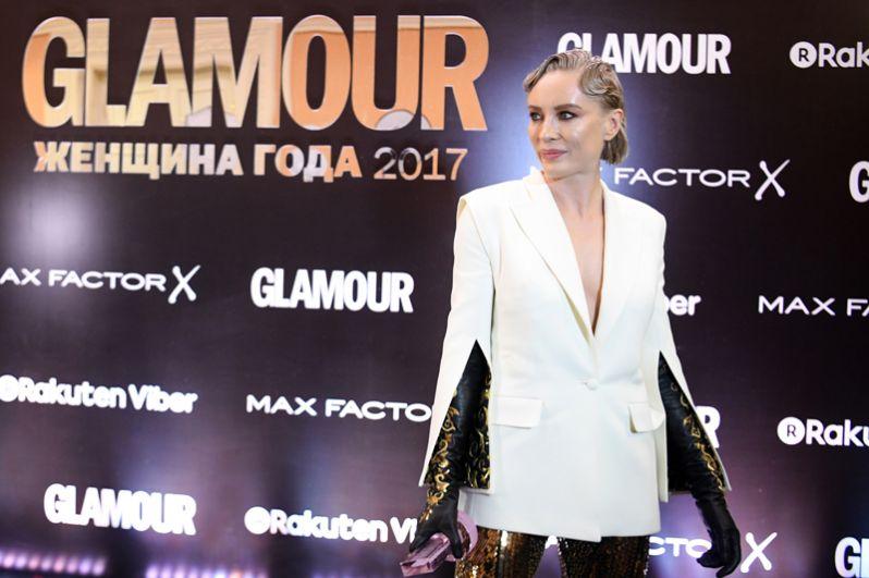 Блогер Наталья Давыдова, получившая награду в номинации «Модница года».