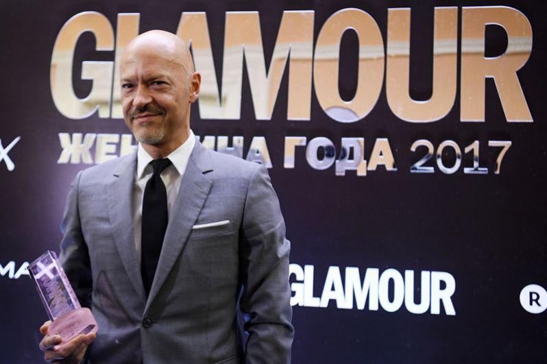 Режиссёр Фёдор Бондарчук, получивший награду в номинации «Мужчина года».