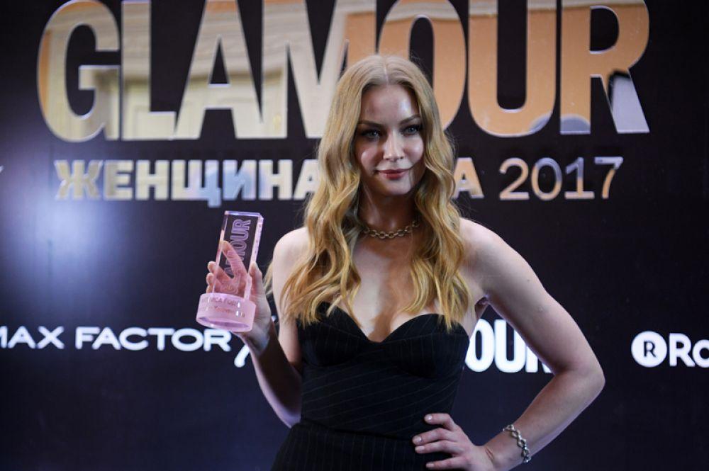 Актриса Светлана Ходченкова, получившая награду в номинации «Актриса года».