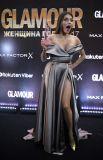 Телеведущая Регина Тодоренко, получившая награду в номинации «Телезвезда года».