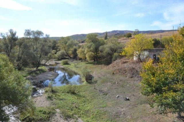 Из этой речки жители Карасёвки берут воду