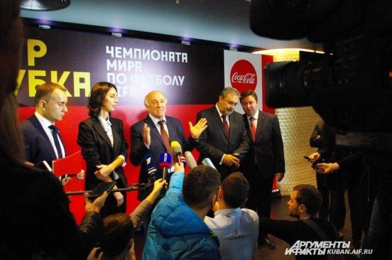 Николай Долуда напомнил, что нужно ждать 1 декабря, когда состоится официальная жеребьевка ЧМ-2018.