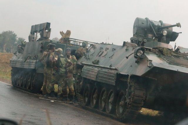 Военные Зимбабве заявили, что их действия не означают госпереворот
