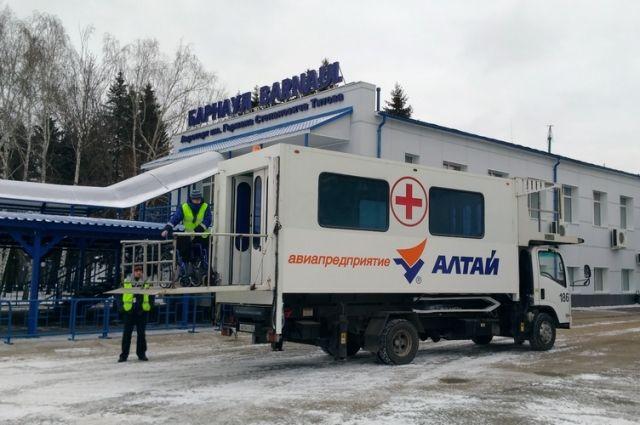 амбулаторный лифт для транспортировки маломобильных граждан