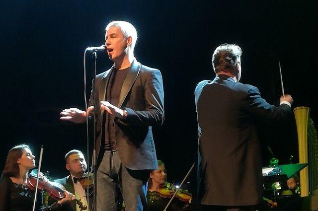 Знаменитый тенор Алессандро Сафина дал сольный концерт в Тюмени