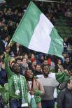 Нигерийские фанаты изо всех сил старались поддержать команду.