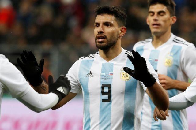 Информация обобмороке Агуэро вперерыве товарищеского матча вКраснодаре опровергнута