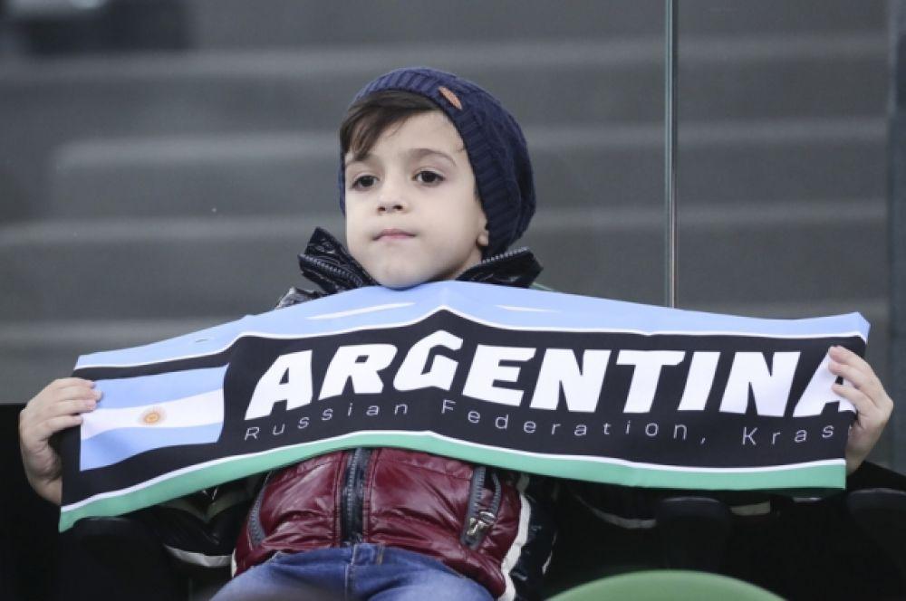 Зато у сборной Аргентины был этот мальчик с выразительными глазами.