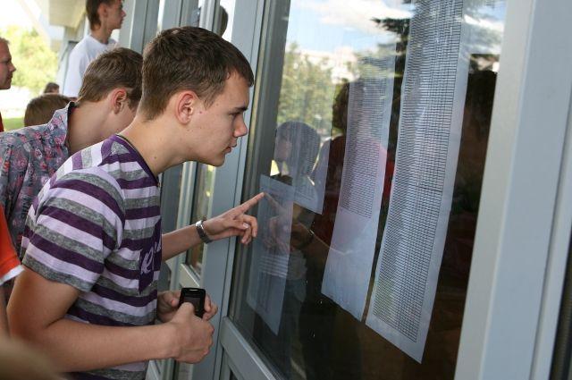 Юные омичи уже выбирают себе будущие профессии.