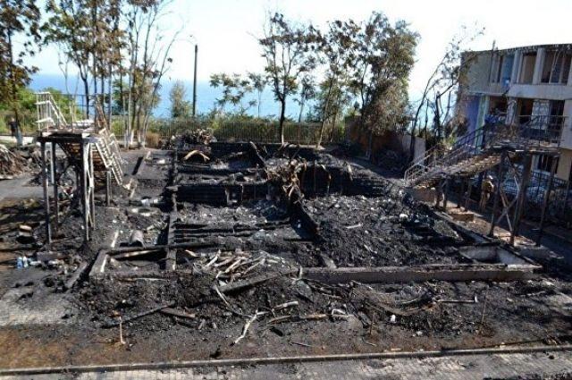 Пожар вОдессе: суд назначил залог боссу лагеря
