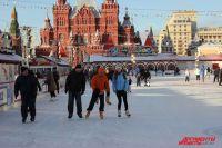 Каток на Красной площади.