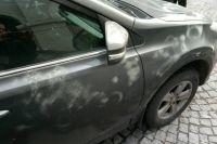 В Харькове облили кислотой авто генконсула РФ