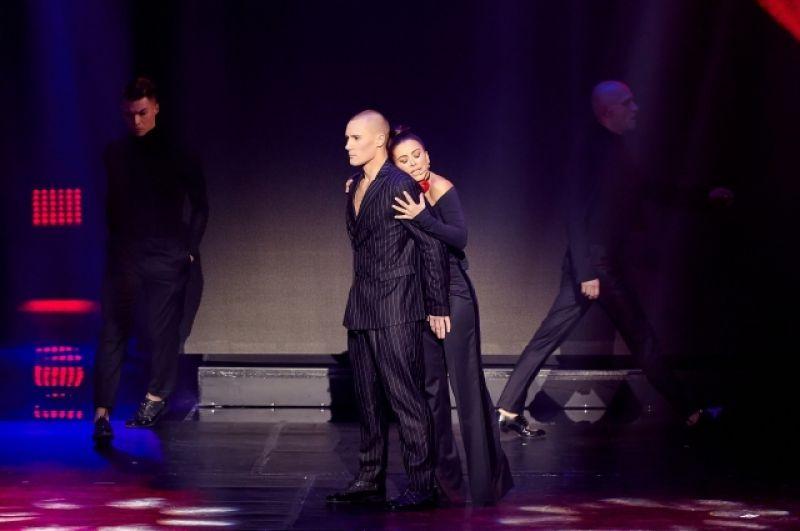 Ани Лорак появилась на сцене Дворца внезапно и вызвала целую бурю оваций