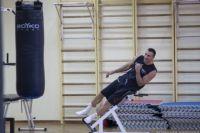 Кличко впервые после завершения карьеры вернулся на ринг