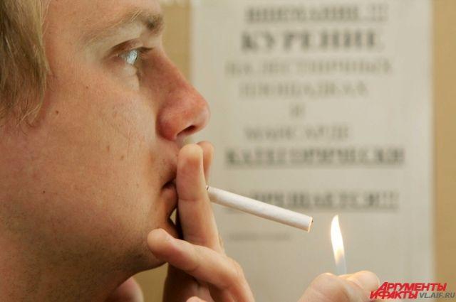 Одной из основных причин рака лёгких является курение.