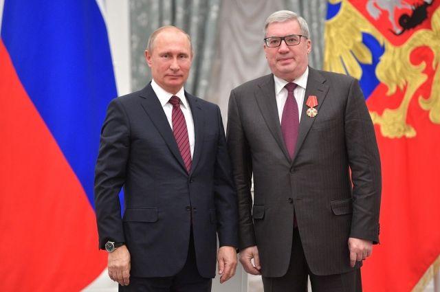 Путин наградил Миллера орденом «Зазаслуги перед Отечеством» Iстепени