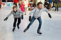 Заливать лед можно при температуре ниже -10 градусов.