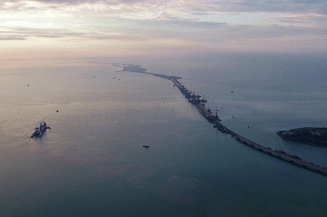 Жители России назовут мост вКрыму впервом зимнем месяце