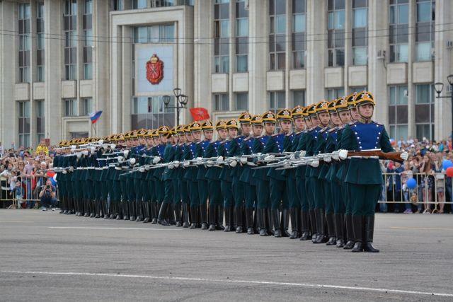 Десять призывников изЧувашии будут служить вПрезидентском полку