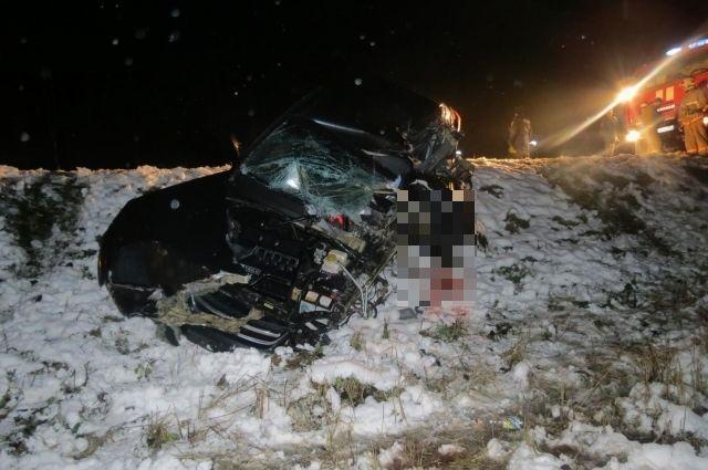 Натрассе вТверской области умер шофёр «Шевроле»