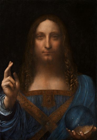 «Спаситель мира» кисти Леонардо Да Винчи изначально выставлялась на торги за 100 млн долларов, за торгами следили коллекционеры со всего мира.