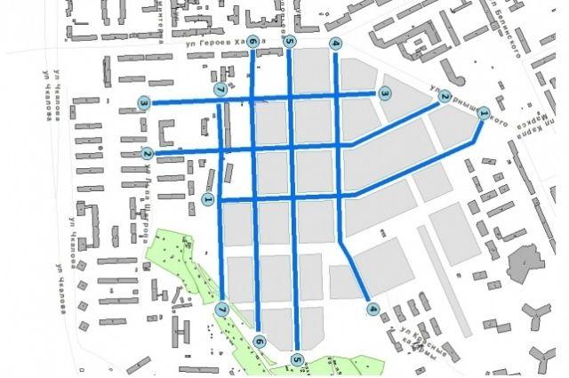 Новые улицы микрорайона